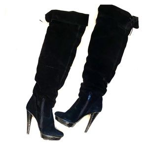 Bakers Over the Knee Suede Boots